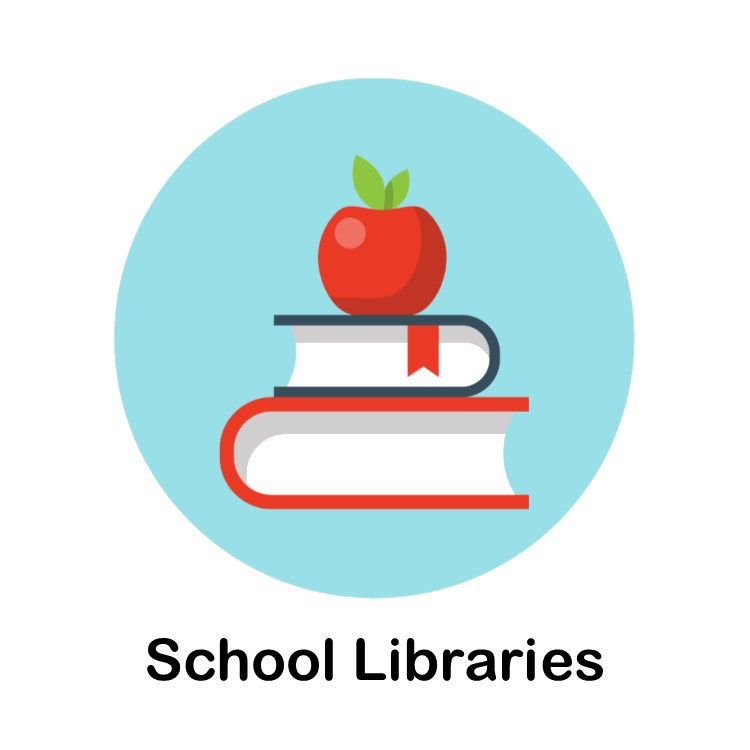 School Libraries Icon